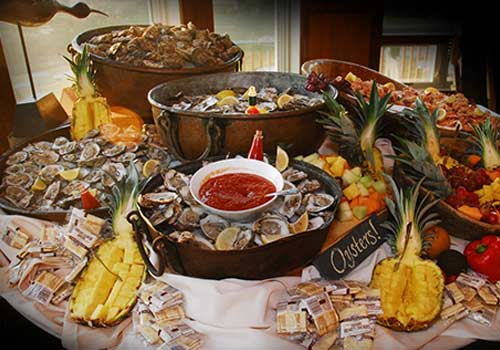 Outer Banks Restaurants Seafood Buffet